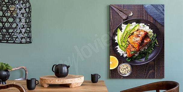 Bild Speise auf einem Teller