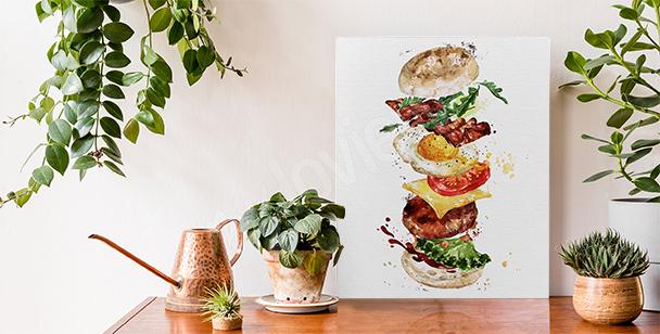 Bild Speise und Burger