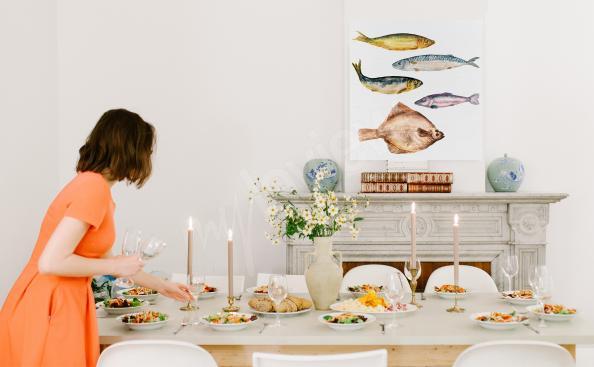 Bild Speise und Fisch