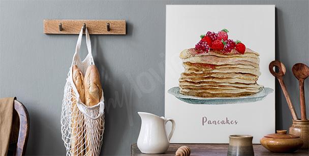 Bild Speise und Pfannkuchen