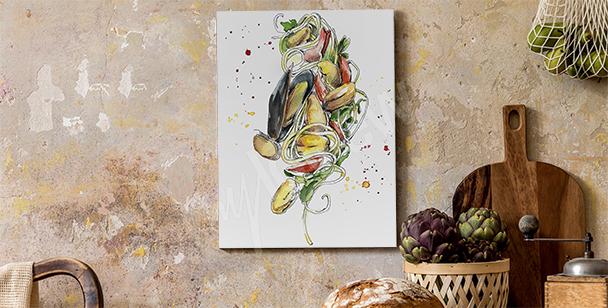 Bild Speisen und Miesmuscheln