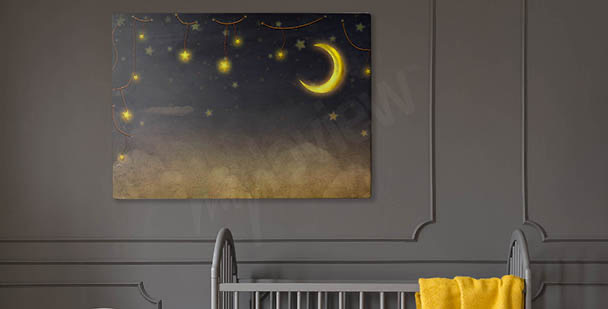 Bild Sterne am Nachthimmel