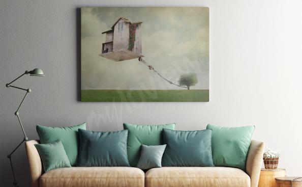 Bild Surrealismus - das Haus