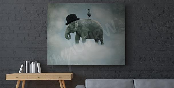 Bild surrealistischer Elefant