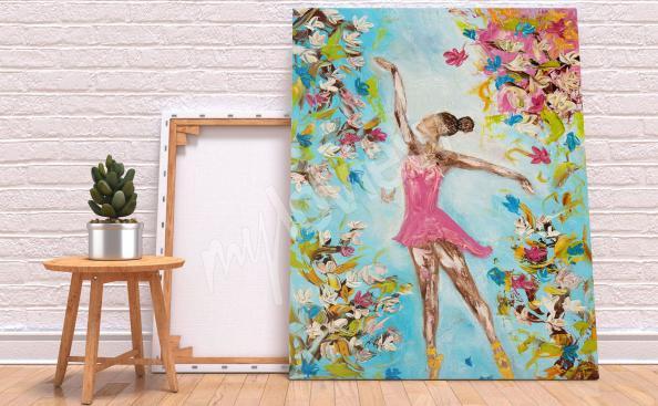 Bild Tanz und Blumen