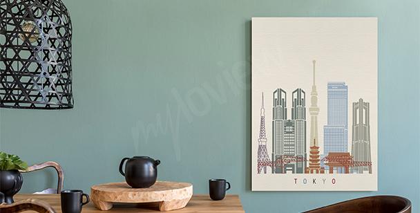 Bild Tokio und Wolkenkratzer