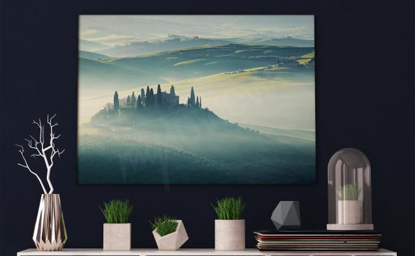 Bild Toskana Gebirge