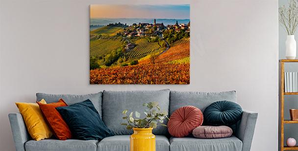 Bild Toskana in warmen Farben