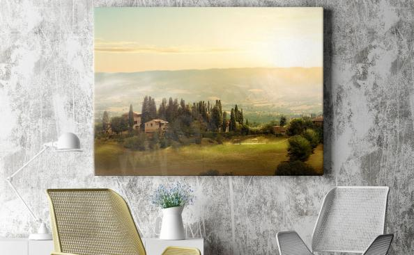 Bild Toskana Landschaft