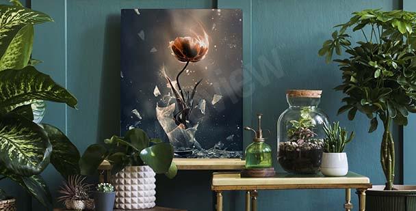 Bild Tulpe in einer Vase