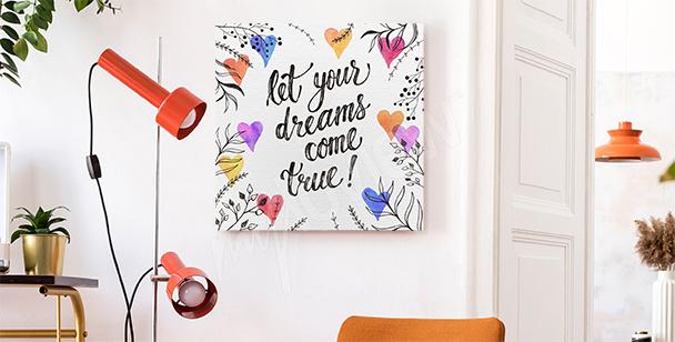 Bild Typografie für Träumer