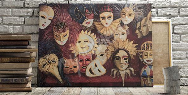 Bild venezianische Masken