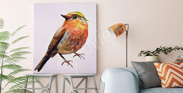 Bild Vogel Aquarell