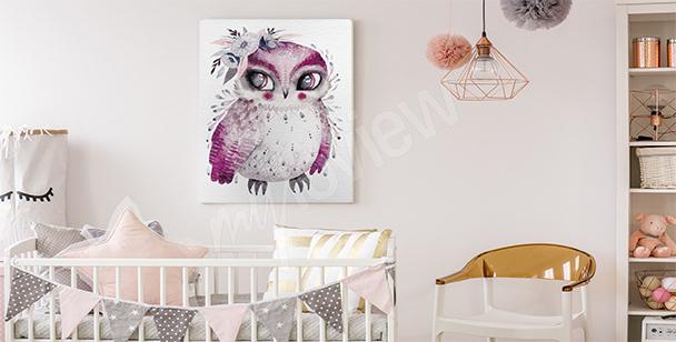 Bild Vogel fürs Kinderzimmer