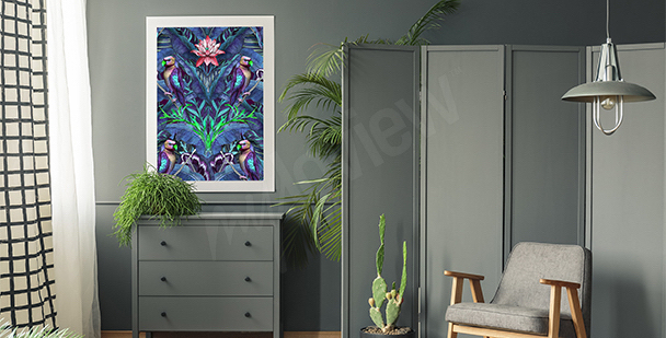 Naturbild mit Lavendel