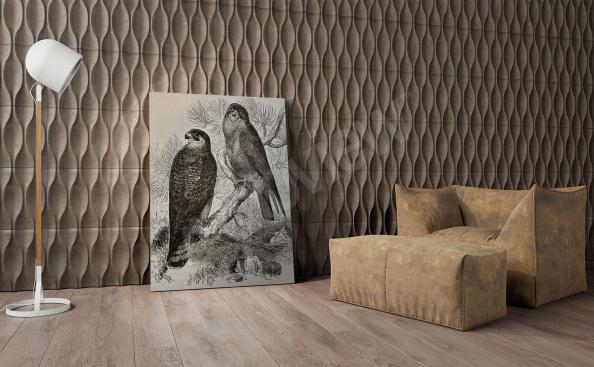 Bild Vögeln schwarz-weiss