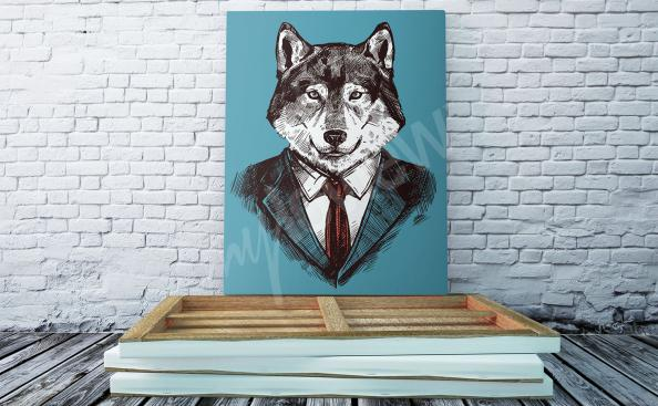 Bild vom Wolf Illustration