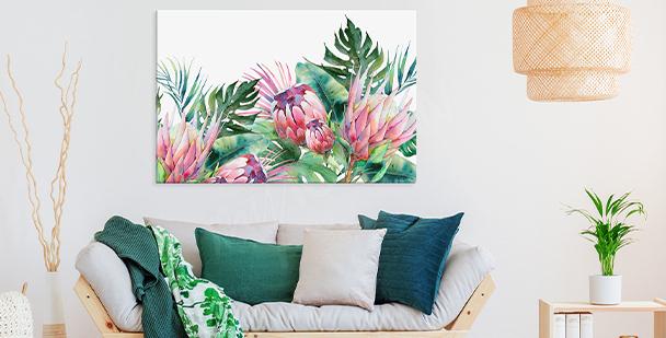 Bild von exotischen Pflanzen