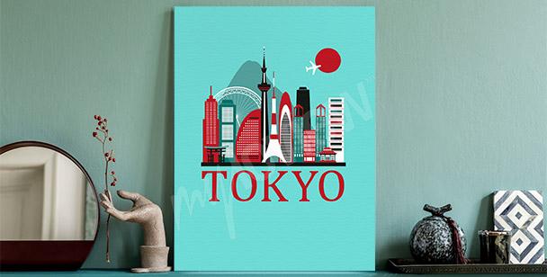 Bild von Tokio und Stadtbild