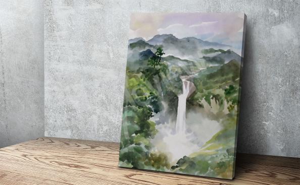 Bild Wasserfall in den Bergen
