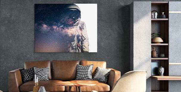 Bild Weltraum fürs Wohnzimmer