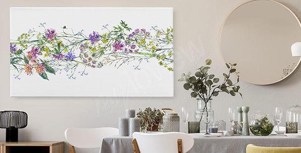 Bild exotische Blumen