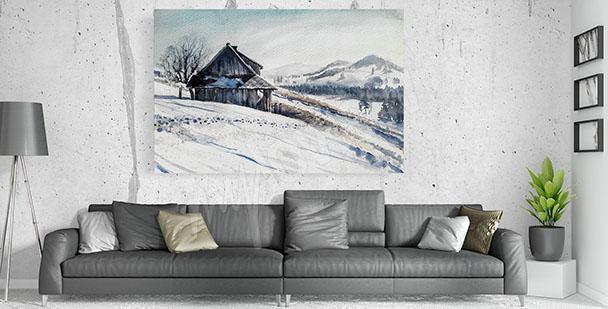 Bild Winter für Wohnzimmer