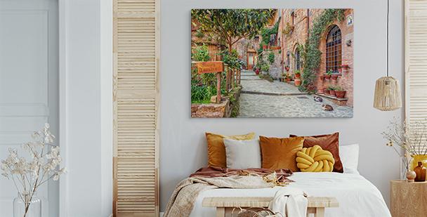 Breitwandbild Toskana