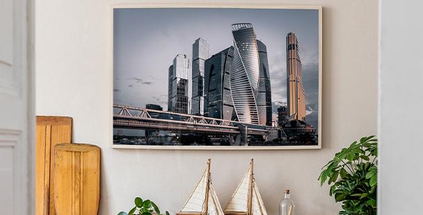 Poster Stadtpanorama