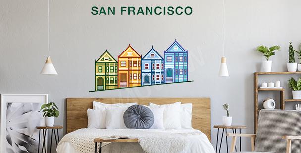 Bunter Sticker San Francisco