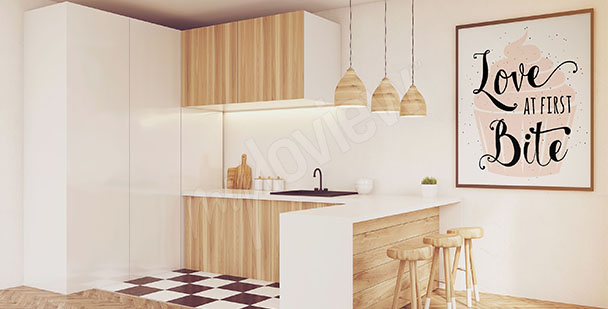 Cupcake Poster für die Küche