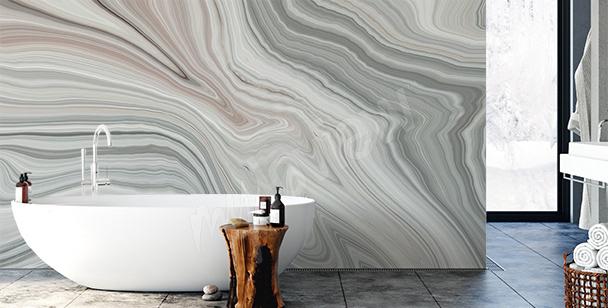 Dekorationsfototapete für das Badezimmer