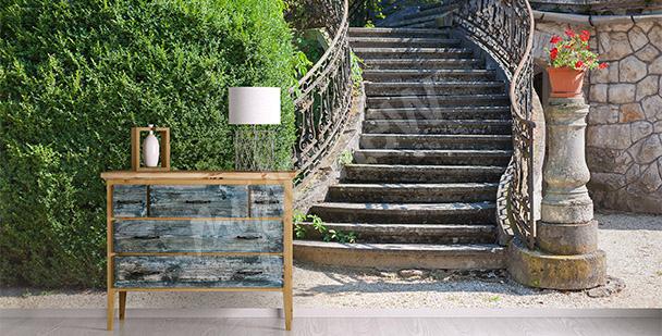 Dreidimensionale Fototapete Treppe