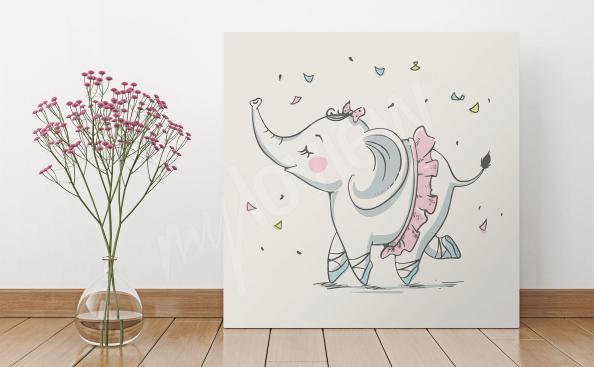 Elefant Bild fürs Kinderzimmer