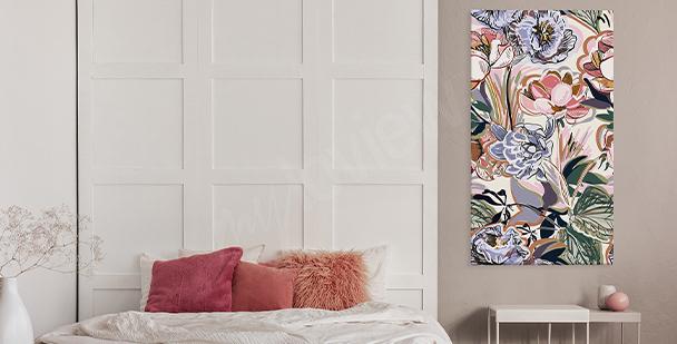Farbenfroher Bild Floral Stile
