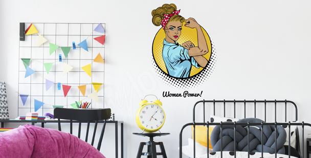 Femininer Sticker Pop-Art