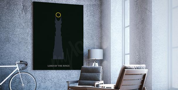 Filmposter Herr der Ringe