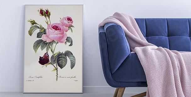 Florales Poster Natur