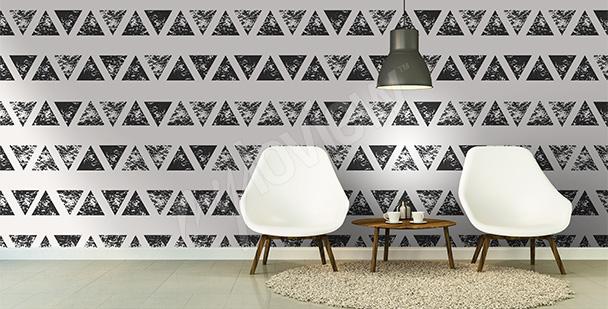 Fototapete Abstrakt Dreieck