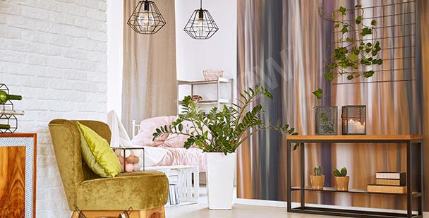 Fototapete Abstraktion für Wohnzimmer