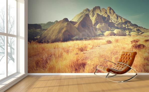 Fototapete afrikanische Landschaft