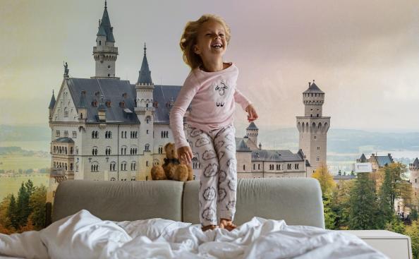 Fototapete Architektur - Schloss in Deutschland