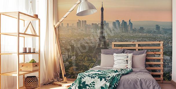 Fototapete Aussicht auf den Eiffelturm