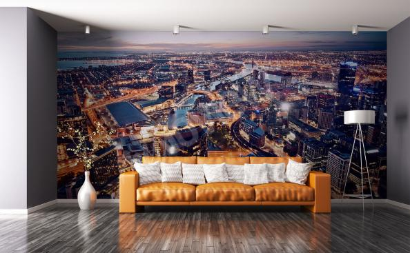 Fototapete Australien Stadtpanorama