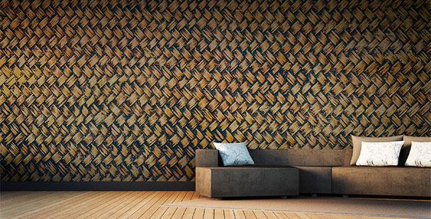 Fototapete Bambus-Textur