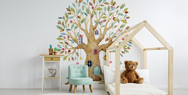 Fototapete Baum fürs Kinderzimmer