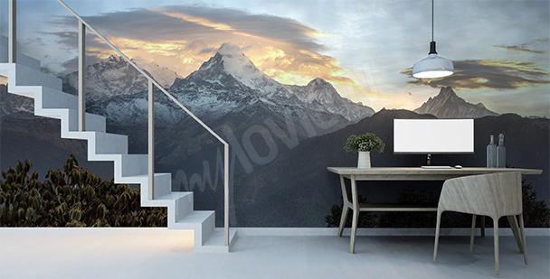 Fototapete Berge in Nepal
