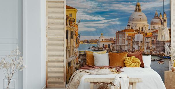 Fototapete Venedig fürs Schlafzimmer