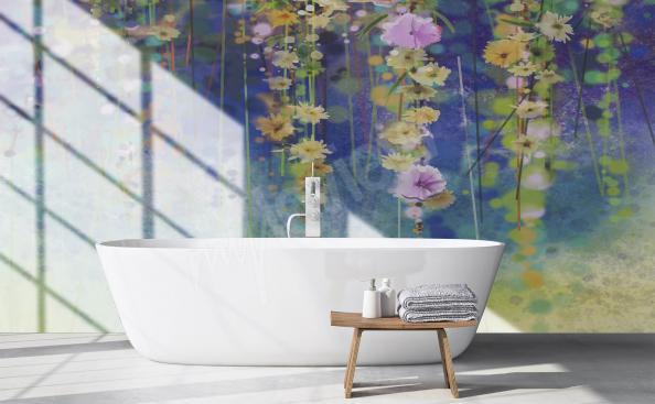 Fototapete Blumen fur Badezimmer