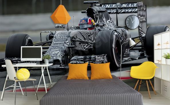 Fototapete Formel 1 auf der Strecke